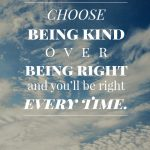 Being Right or Being Loving? Hmmmm…